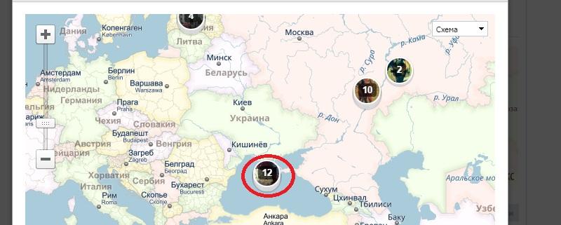 вконтакте как посмотреть фотографии на карте